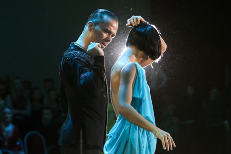Andrey Zaitsev and Elizaveta Cherevichnaya: showcase on Neva Autumn 2014
